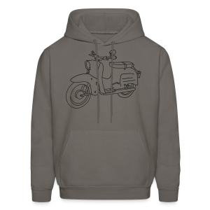 Scooter Swallow - Men's Hoodie