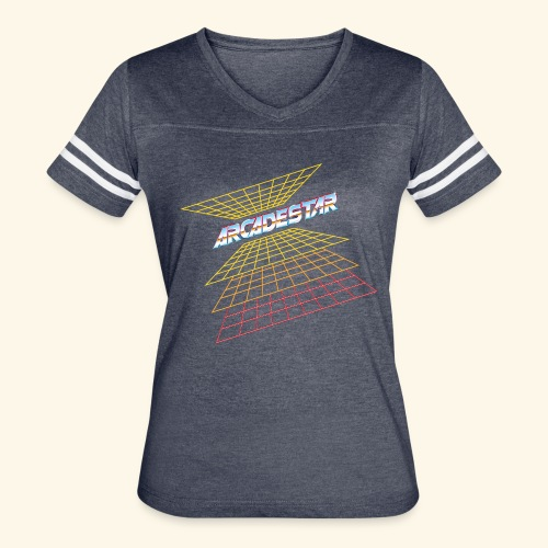 ArcadeStar - Women's Vintage Sport T-Shirt