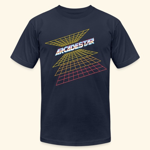 ArcadeStar - Men's T-Shirt by American Apparel