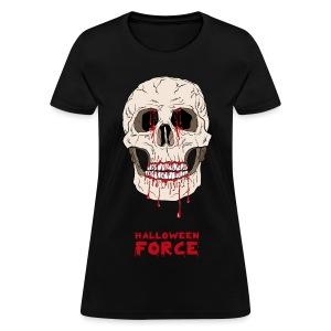Halloween Bloody Skull  - Women's T-Shirt
