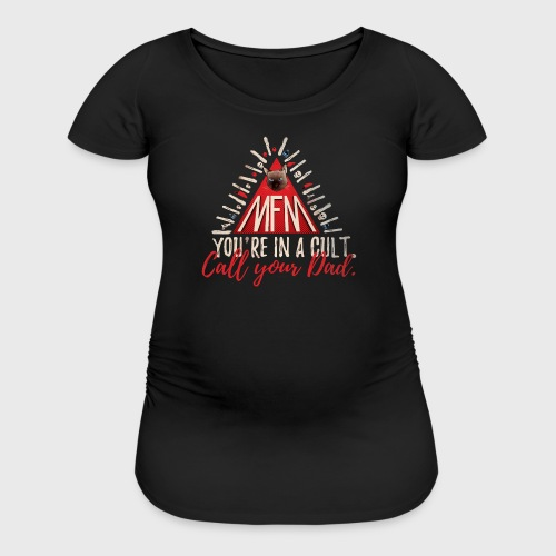 my favorite murder MATERNITY TEE - Women's Maternity T-Shirt