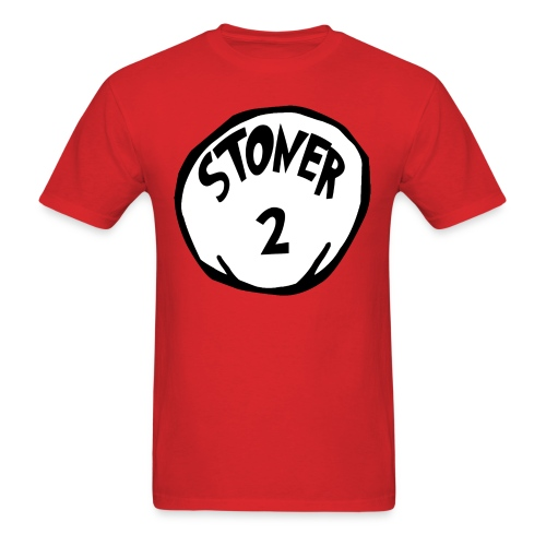 The Cat in the Hat: Stoner 2 T-Shirt (U) - Men's T-Shirt