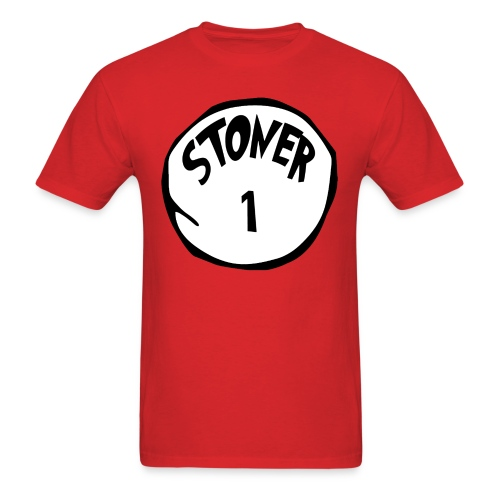 The Cat in the Hat: Stoner 1 T-Shirt (U) - Men's T-Shirt