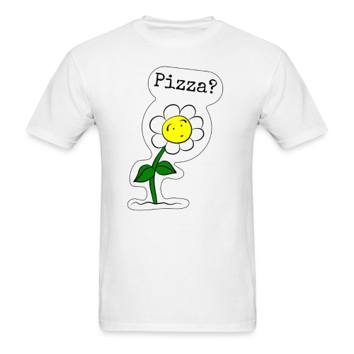 Sunflower-Pizza - Men's T-Shirt
