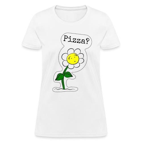 Sunflower-Pizza - Women's T-Shirt