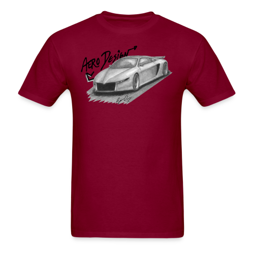 Aero Design 400MR Shirt (Front Only) - Men's T-Shirt
