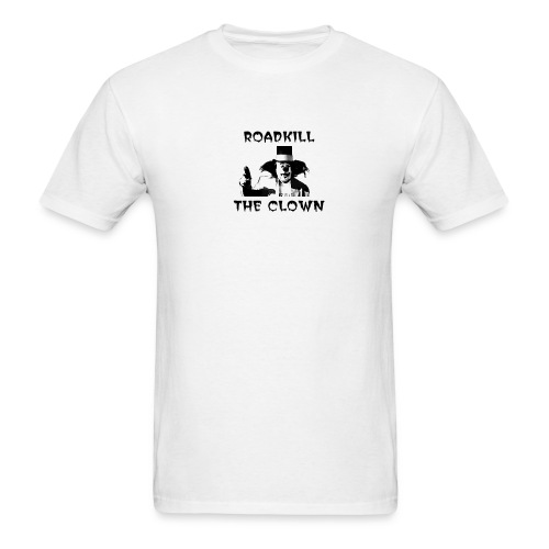 Roadkill the Clown Black & White - Men's T-Shirt