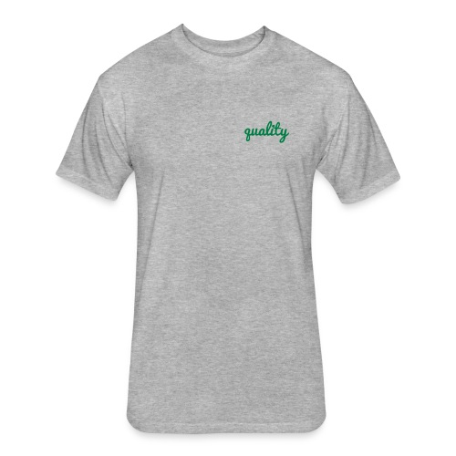q95 - Fitted Cotton/Poly T-Shirt by Next Level