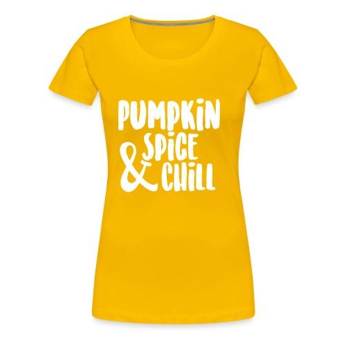 Pumpkin Spice  - Women's Premium T-Shirt