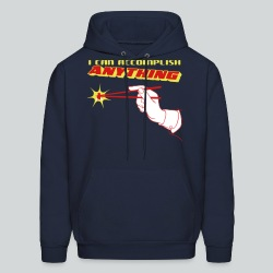 I Can Accomplish Anything - Men's Hoodie