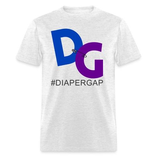 #DiaperGap T-Shirt - Large Logo - Men's T-Shirt