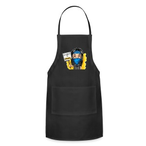 Silence is Golden Adjustable Apron - Adjustable Apron