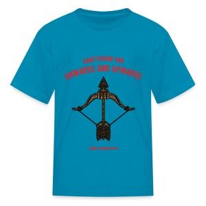 Sagittarius Sun Kids' T-Shirt - Kids' T-Shirt