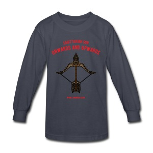 Sagittarius Sun Kids' Long Sleeve T-Shirt - Kids' Long Sleeve T-Shirt