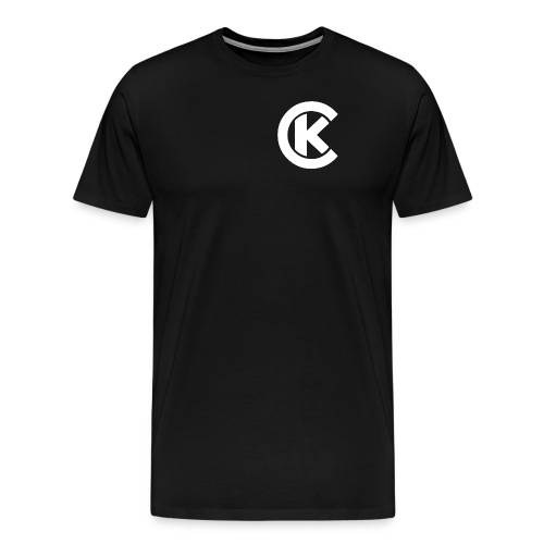 Men's T (White Logo) - Men's Premium T-Shirt