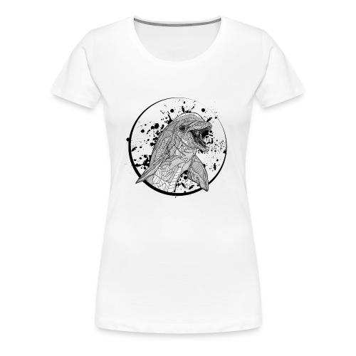Women's T Shirt: Bottlenose Dolphin - Women's Premium T-Shirt