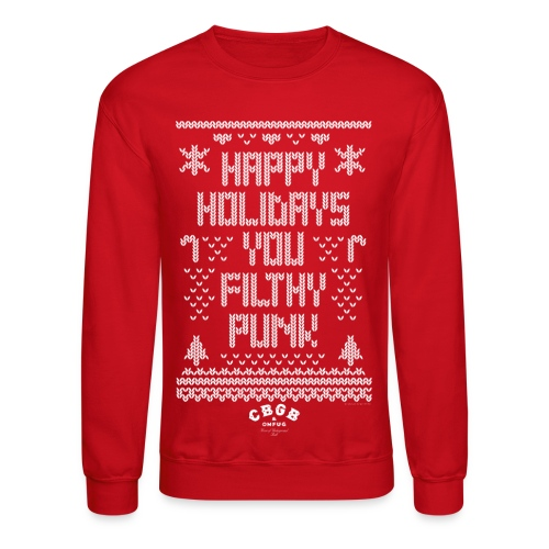 Filthy Punk (crewneck) - Crewneck Sweatshirt