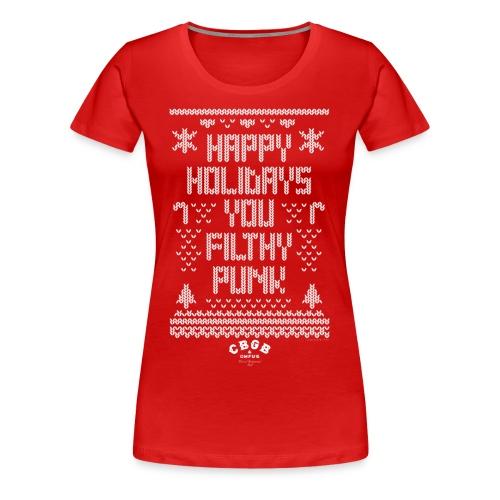 Filthy Punk - Women's Premium T-Shirt