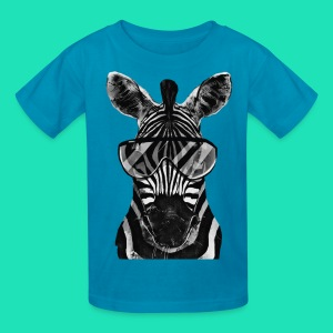 COOL ZEBRA T SHIRT FOR KIDS - Kids' T-Shirt