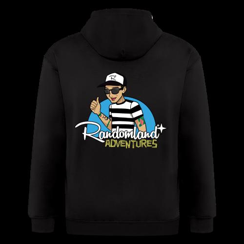 Randomland Adventure hoodie! - Men's Zip Hoodie