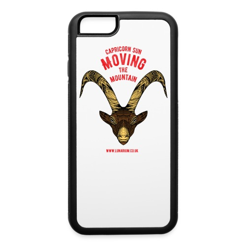 Capricorn Sun iPhone 6/6s Rubber Case - iPhone 6/6s Rubber Case