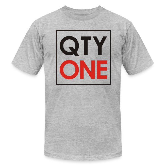 QTYONE Men's T-Shirt by American Apparel