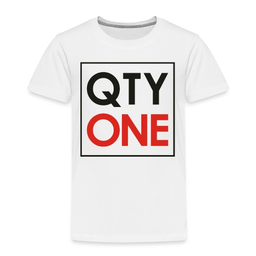 QTYONE Toddler Premium T-Shirt - Toddler Premium T-Shirt