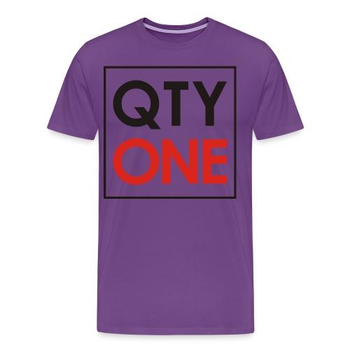 QTYONE Men's Premium T-Shirt - Men's Premium T-Shirt