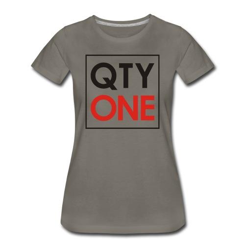 QTYONE Women's Premium T-Shirt - Women's Premium T-Shirt