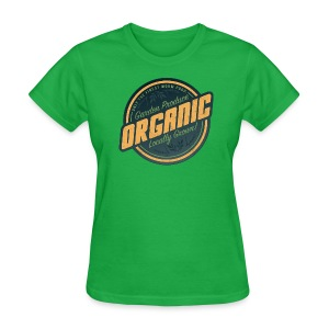 ORGANIC Garden Produce - Women's T-Shirt