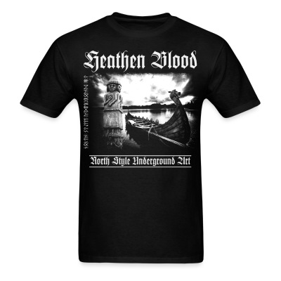 Heathen Blood - Men's T-Shirt