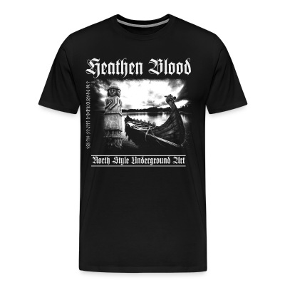 Heathen Blood - Men's Premium T-Shirt