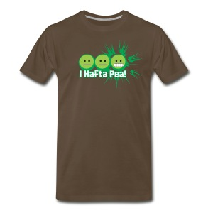 #IHaftaPea! -Premium Tee - Men's Premium T-Shirt