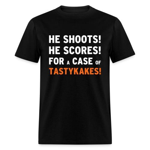 He Shoots! He Scores! - Men's T-Shirt