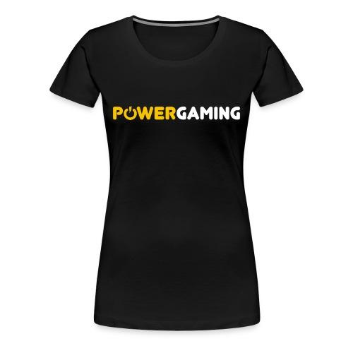 Power Gaming Shirt - Women's Premium T-Shirt