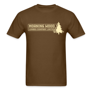 Morning Wood Lumber Company Men's T-Shirt - Men's T-Shirt