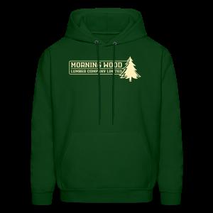 Morning Wood Lumber Company Men's Hoodie - Men's Hoodie