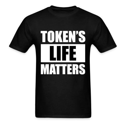 South Park: TOKEN'S LIFE MATTERS T-Shirt (U) - Men's T-Shirt