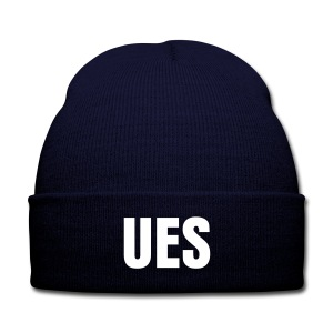 UES Beanie - Knit Cap with Cuff Print