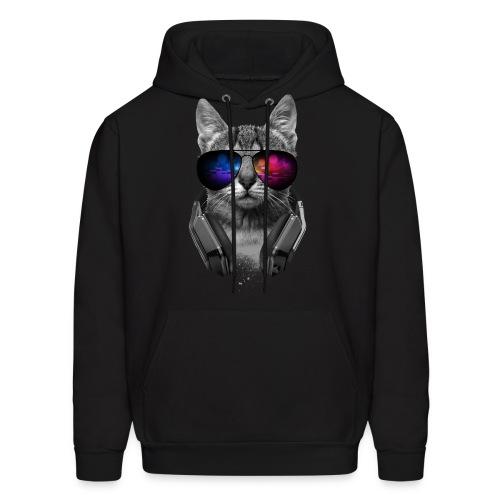 dj cool cat hoodie - Men's Hoodie