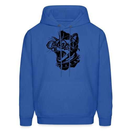punk cat hoodie - Men's Hoodie