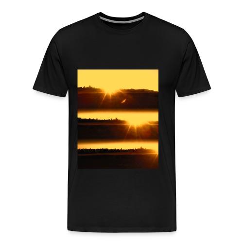 Sunset in Pipa T-Shirt - Men's Premium T-Shirt