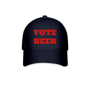 VOTE BEER Baseball Cap Blue - Baseball Cap