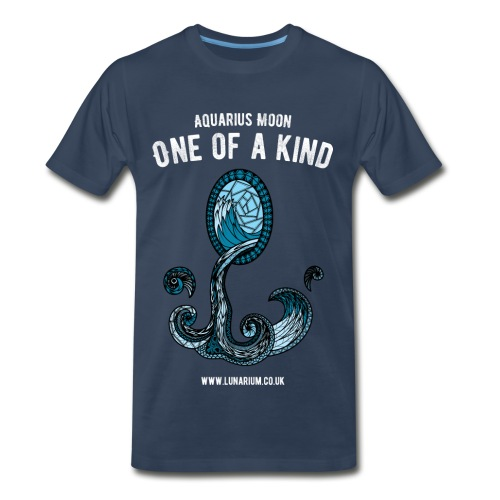 Aquarius Moon Men's Premium T-Shirt  - Men's Premium T-Shirt