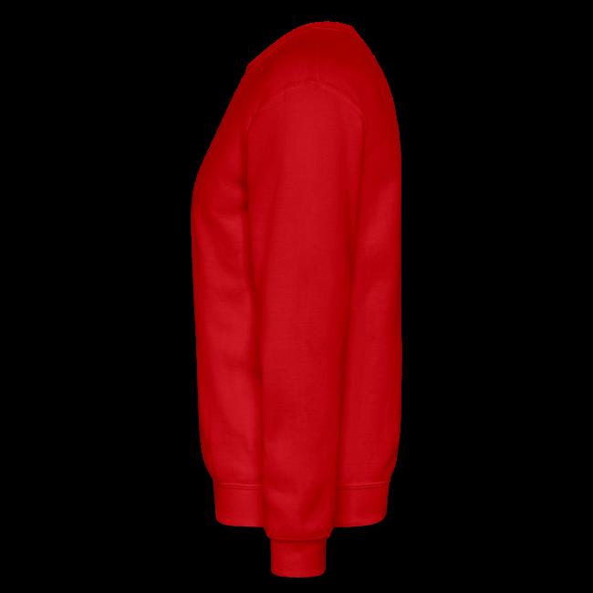 Men & Women's Sweatshirt- Back & chest logo (Black Glitz)