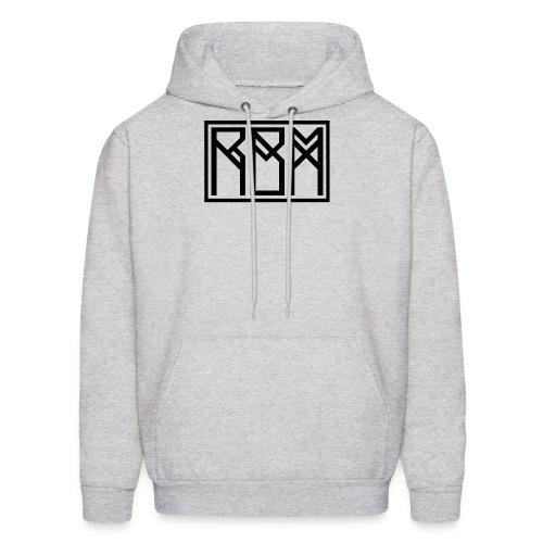 Black font hoodie - Men's Hoodie