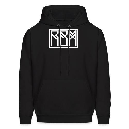 White font hoodie - Men's Hoodie