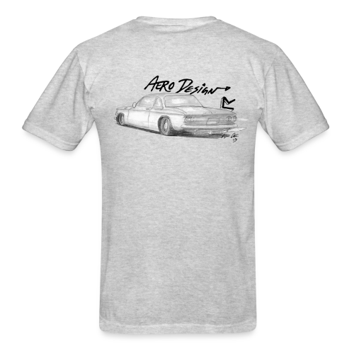 Corvair T-shirt (With Front Logo) - Men's T-Shirt