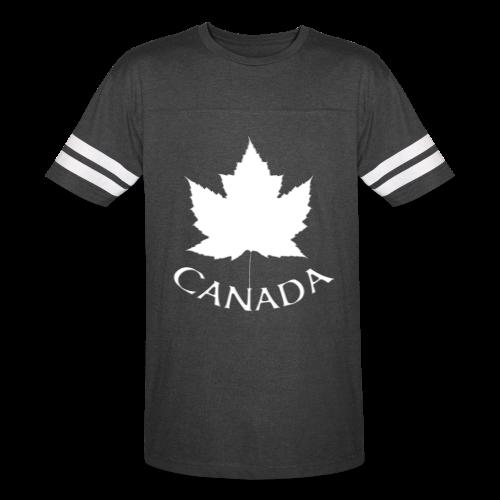 Canada T-shirts Jerseys B & W Canada Souvenir Shirts - Vintage Sport T-Shirt