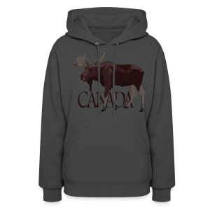 Canada Moose Hoodies Canada Souvenir Hooded Sweatshirts - Women's Hoodie
